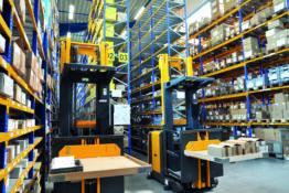 Warenlagerung in der Industrie